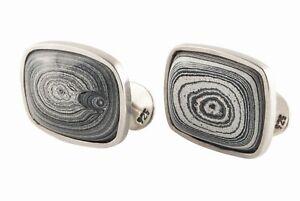 Corvetteite (Detroit) Agate cufflinks by alan k. thau