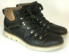 Timberland Bradstreet ? Leather Mens Sensorflex High Chukkas Boots Brown Size 9