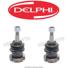 For Mercedes ML320 Pair Set of Front L+R Ball Joints for Steering Knuckle Delphi