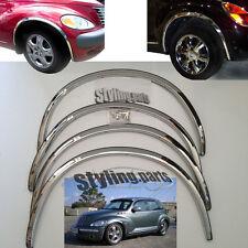 Passage de Roue Chrome Version Longue pour Chrysler Pt-Cruiser 4 Portes