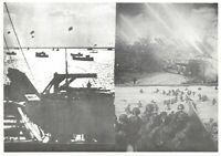Postcard, WW2 D-Day June 6th 1944 Multi View, Ships of the Invasion Fleet 33N