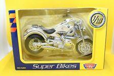 1:18 Motor Max BMW R1200 Super Bikes white OVP