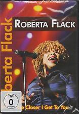 """DVD: Roberta Flack - """"The Closer I Get To You"""" - NEU & OVP  (Soul)"""