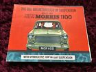 Morris 1100 Brochure 1963 - UK Issue #6301/B