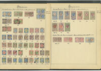 Italy Stamps 73x Revenue 1920 Vin on Antique page Rare