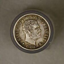 Hawaii 1883 10 Cents XF