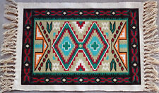 Canvas Stencil Placemat 166-HIMAT Southwest Southwestern Design Western Set  4