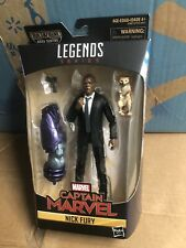 Marvel Legends Captain Marvel 6 Inch Figure Kree Sentry Series - Nick Fury