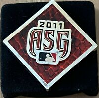VINTAGE 2011 MLB BASEBALL ALL STAR GAME PRESS PIN With Case - DIAMONDBACKS