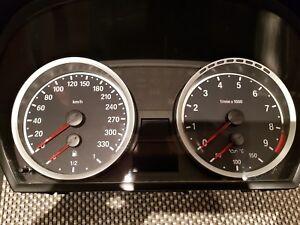 Tachoscheibe  für M3 M5 E90 E91 E92  und E60-E61 E63 E64 E70 E71 Benziner Top