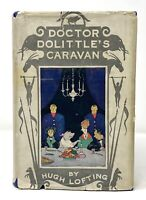 Hugh Lofting - Doctor Dolittle's Caravan - 1st 1st ORIGINAL DJ - Scarce 1926