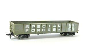 HO Vintage U.S. Army Special Forces Gondola 2329 Green