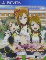 PS Vita Love Live! School idol paradise Vol.1 Printemps Japan PSV