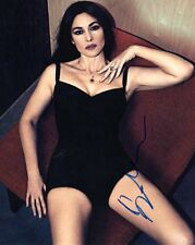 Monica Bellucci Sexy Autographed Signed 8x10 Photo COA #10