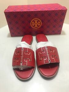 NEW IN BOX!! TORY BURCH INES SLIDE SANDALS