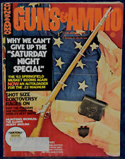 Magazine GUNS & AMMO June 1974 LUGER DWM Military Models, LANDMANN Model 72 &102