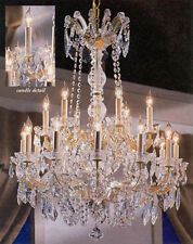"Maria Theresa Crystal Chandelier Chandeliers Lighting 30""X28"""