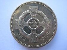 1996 £1 One Pound coin Irish reverse UNC