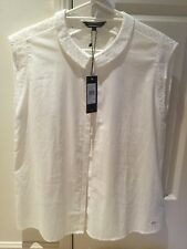 Womens Tommy Hilfiger Cotton Blouse Size 6 New