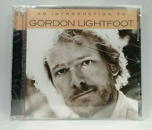 An Introduction To Gordon Lightfoot (CD, Jun-2018, Warner Bros.) Cracks in case