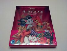 *CHIP* Disney's The Aristocats Embossed STEELBOOK (Blu-ray, UK) REGION FREE