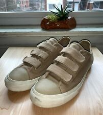Vans Prison Issue 3 Strap Skate Shoes Sneakers Shoes Brown Canvas Men's Sz 10.5
