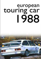 ETCC - European Touring Car Championship 1988 (New DVD) Ford vs BMW Ludwig Allum
