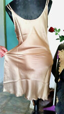 100% Real Silk Night Dress-So Cool You Feel Naked-Ultimate Cool Comfort SZ14 BR*