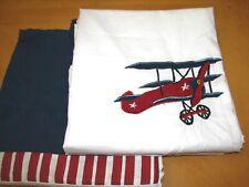 "Sweet Jojo Design Vintage Aviator Window Treatment 42"" x 84"" Panels Set/2 Exc"