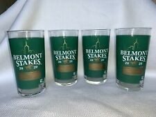 FOUR 2020 BELMONT STAKES GLASSES  June 20, 2020  How About that-  TIZ THE LAW!❤️