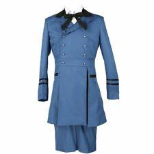 Unisex Black Butler Ciel Phantomhive Cosplay Costume Full Set Outfit Dress Suit
