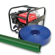 Flood Pump Kit with Layflat Delivery Hose, Hose Reels, Pumps and Compressors