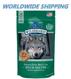 Blue Buffalo Trail Treats Duck Recipe Dog Snacks 10 Oz WORLDWIDE SHIPPING