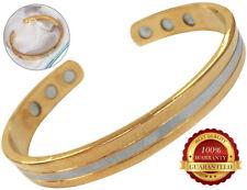 Cuivre Magnétique Santé Bracelet 6 Aimants Bangle Pain Healing Arthritis Therapy