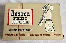 Vintage Boston Athletic Supporter Jock Strap NOS Unused Original Box Medium
