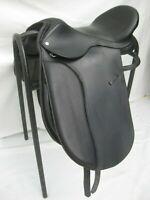 Dressur Baumloser Sattel (springend) schwarz Mit Sidepull Zaum zeuggröße Zubehör