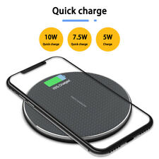 10W Qi Wireless Fast Charger Charging Pad Dock for cell Phone Samsung Galaxy New