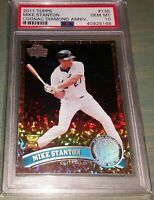 2011 Topps Cognac Diamond Anniversary #135 MIKE STANTON PSA 10 All Star Gold Cup