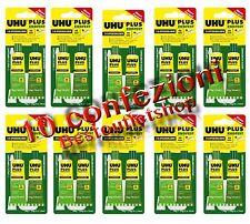 UHU Plus 300kg/cmq 10 PZ  Colla Universale bicomponente essiccazione Lenta