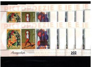 /// 10X ROMANIA - MNH - ART - PAINTING - 2004 - WHOLESALE