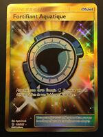 Carte Pokemon FORTIFIANT AQUATIQUE 161/145 Secrète Soleil et Lune 2 FR NEUF