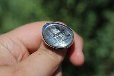 New listing Meteorite Jewelry Meteorite ring srmt 304-2