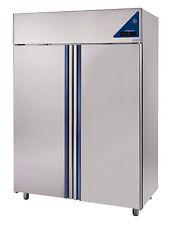 Gewerbe Kühlschrank ECC1400TN Edelstahl Korpus 1400Liter Umluftkühlschrank GN2/1