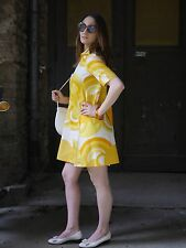 Robe 60er SPACE AGE pièce unique Modernist True Vintage 60 s mod Futuristic dress