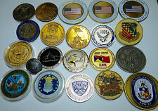 20 US Air Force Military Aircraft Challenge Coin Collection Free USA Shipping