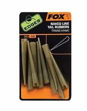 Fox Bords nu fil caoutchoucs de Queue / Pêche À la Carpe