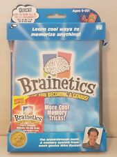 """Brainetics """"More Cool Memory Tricks""""  DVD & Playbook. NEW factory sealed! FUN!"""