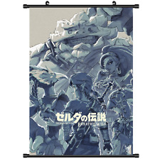 3492 Game The Legend of Zelda no Densetsu Breath of the Wild wall Scroll poster
