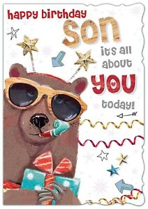 happy birthday SON its all about you today! Birthday Card For Son