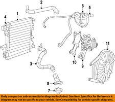 Jeep CHRYSLER OEM 07-17 Wrangler-Radiator 68143886AA
